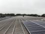 wk 43 - de eerste zonnepanelen worden gemonteerd
